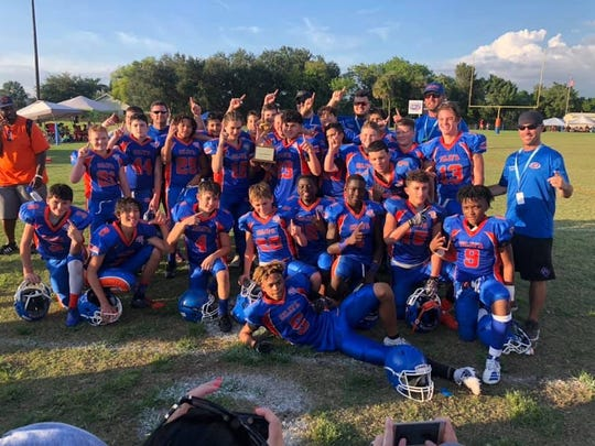 The Cape Junior Tornadoes are just one more win away from the Pop Warner national finals at the ESPN Wide World of Sports Complex