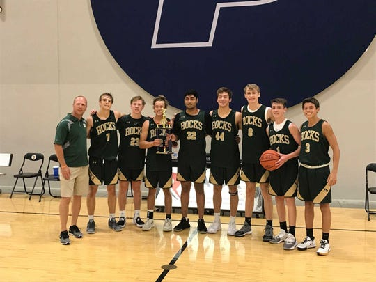 Westfield won the summer league at the Pacers Athletic Center (Braden Smith with ball)