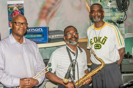 The members of Patience are, from left, the Rev. Charles Boswell, Skip Jackson and Robert Walton.