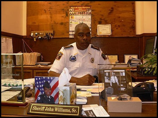 Lowndes County Sheriff John Williams was shot and killed at a convenience store about 8:15 p.m. Saturday, Nov. 23, 2019, in Hayneville.