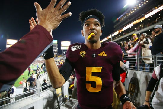 Jayden Daniels and the Sun Devils got a huge win over Oregon last season, but that game was at Sun Devil Stadium.