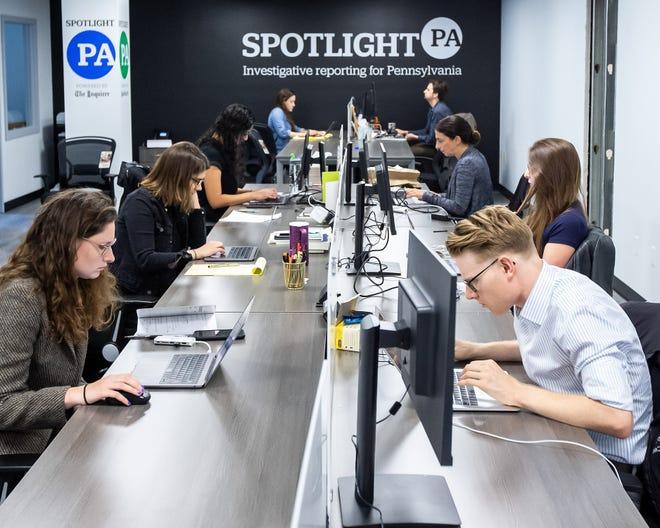 Spotlight PA team at work.