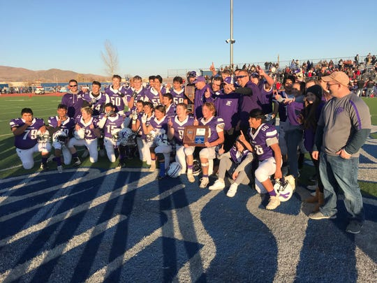 Yerington beat Lincoln County for the 2A state football championship.