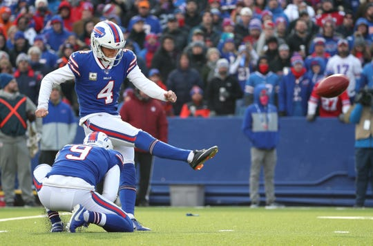 After a mediocre performance in the first 10 games, Bills kicker Stephen Hauschka finished the season strong.