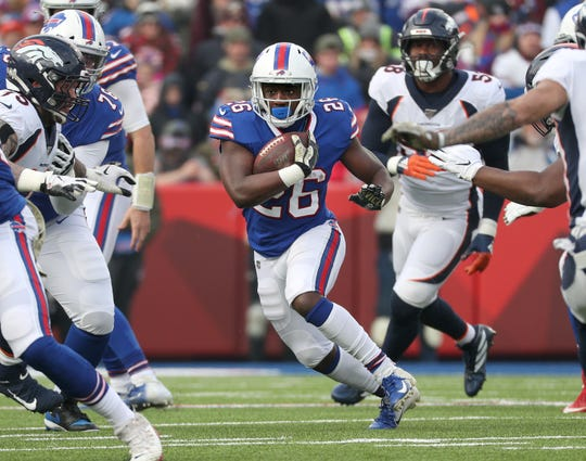Bills running back Devin Singletary rushed for 106-yards in a 20-3 win over the Broncos.