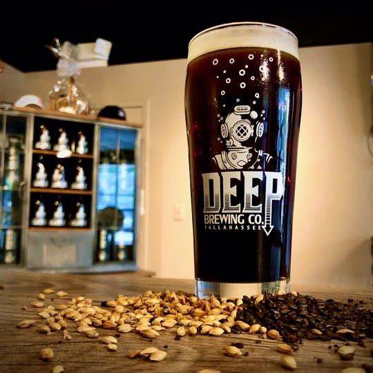 """Deep's """"Black RyeDay"""" rye ale is part of the brewery's festive homage to Thanksgiving leftovers being poured during Deep Brew Company's """"Black RyeDay"""" event starting at 1 p.m. Friday."""
