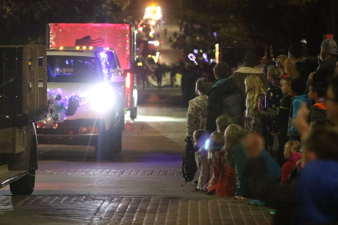This year's City Lights Parade won't budge. Attendees will do the moving instead.