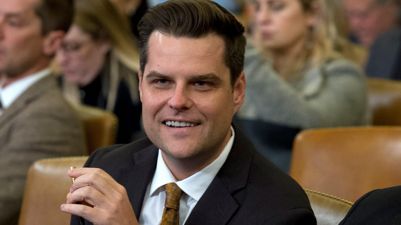 'OK, Boomer': Republican Rep. Matt Gaetz scoffs at Kellyanne Conway's stance on marijuana legalization - USA TODAY