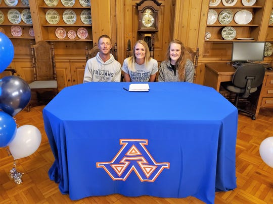 Appleton West's Kristin Edens will play softball at Dakota State University.