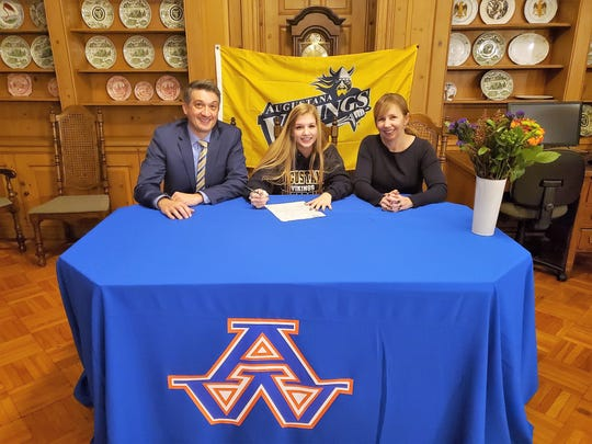 Annika Bard of Appleton West signed a National Letter of Intent to play soccer at Augustana University in Sioux Falls, South Dakota