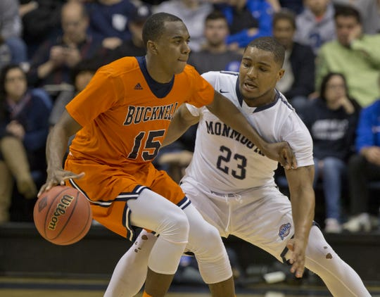 Monmouth defeted Bucknell in an opening round NIT game on March 16, 2016 in West Long Branch.