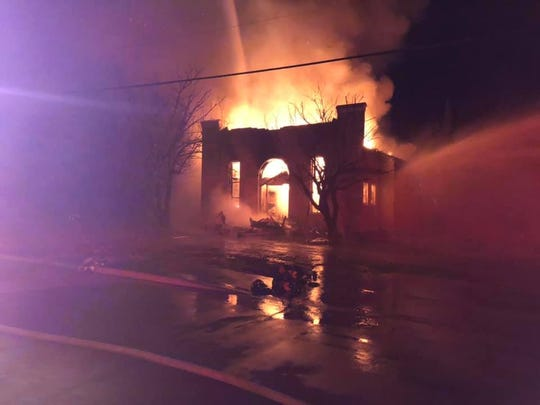 A fire destroyed Temple Beth Israel in Breckenridge on Sunday.
