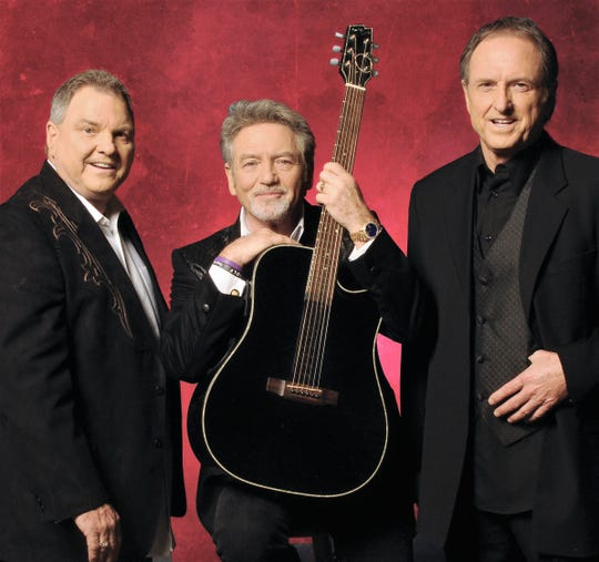 From left: Steve, Larry and Rudy Gatlin are the Gatlin Brothers, who will perform Sunday in Abilene.