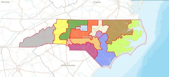 A new congressional map passed by the General Assembly on Nov. 13 puts all of Asheville and Buncombe County back in the 11th District. The county and city had been split between two districts in what critics said was a partisan gerrymander to weaken the voting power of liberal Asheville.