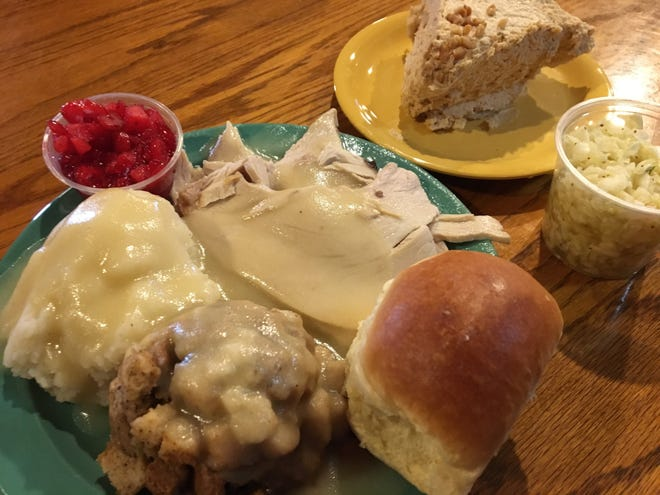 If you want all the fixin's, get the Turkey Dinner on your next stop to Cornwell's Turkeyville.