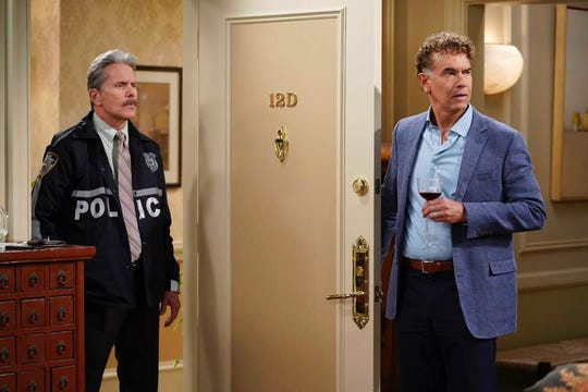 """Brian Stokes Mitchell (right, with Gary Cole) starred in the 2019 TV series """"Fam."""""""