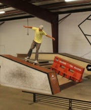 Cocoa Beach's Elijah Allred competed at the Boardr/Grind for Life series finale last weekend in Tampa.