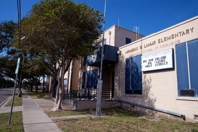 The Ed Rachal Foundation is converting the former Lamar Elementary School, at 2212 Morris St., into office space for the city of Corpus Christi.