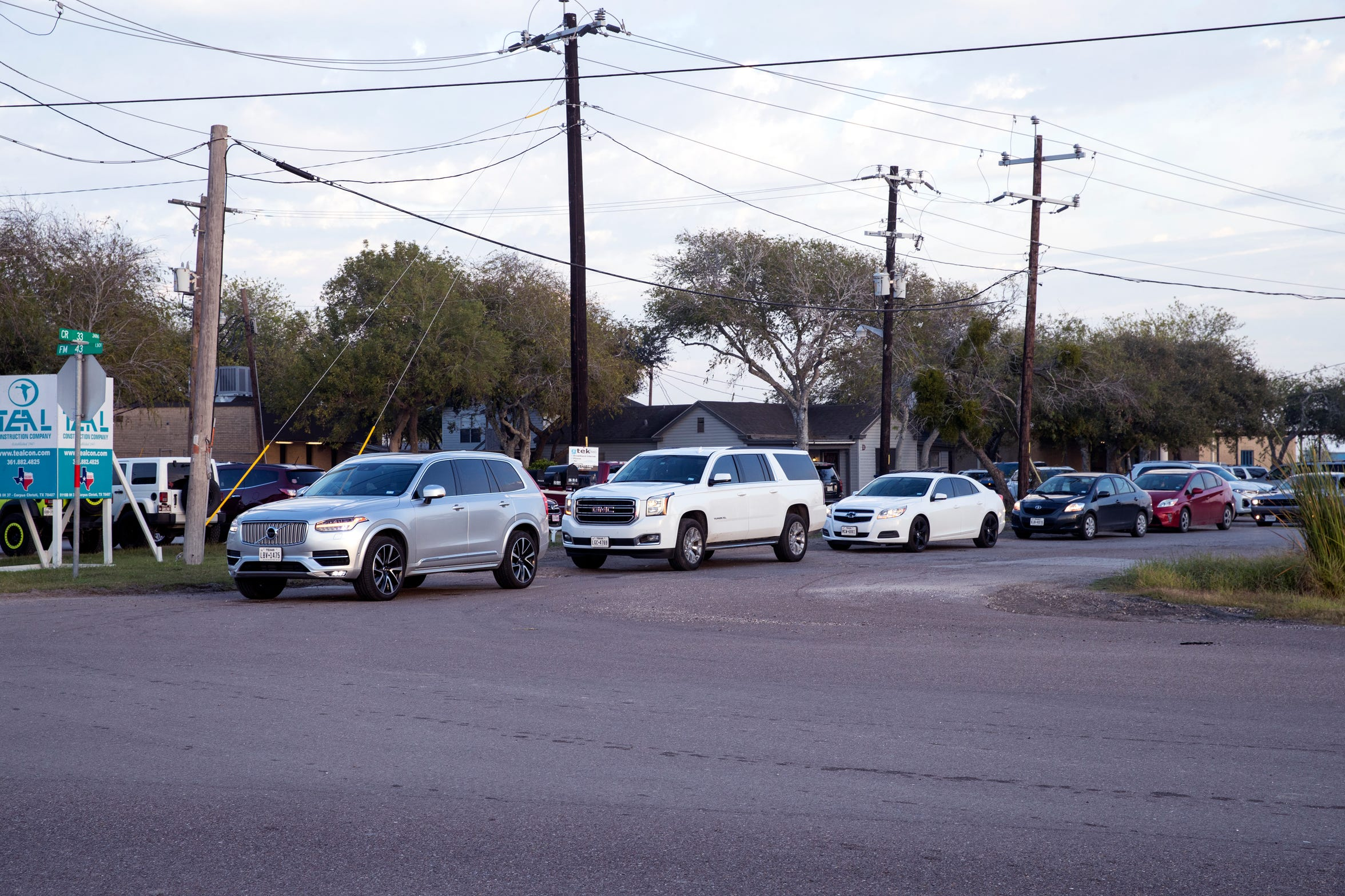 Kids are dropped off at schools at the London Independent School District on November 22, 2019. Developers have plans to build homes, and streets, near the district. The intersection of County Road 33 and Farm to Market Road 43 becomes congested during drop off times. County Road 33 is in bad condition and Corpus Christi is looking to annex it to widen it to four lanes.
