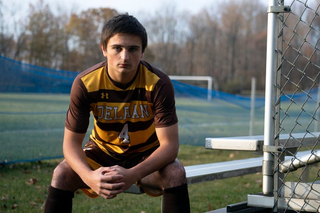 Delran's Frankie Taylor is the 2019 Player of the Year for boys' soccer.