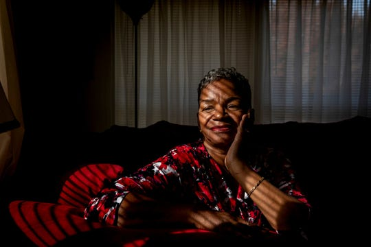 Cincinnati resident Gwendolyn Barton, 62, smoked crack cocaine and used other drugs for about 20 years before getting sober in 2008. (Meg Vogel for KHN)