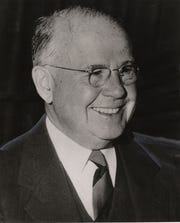 JUNE 13, 1957: Fred Lazarus Jr., president of Federated.