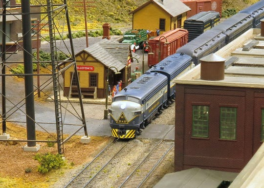 The annual Holiday Sound and Light Show hosted by The Model Railroad Club opens on Friday, Nov. 29, at the A. Paul Mallery Model Railroad Center in Union Township.