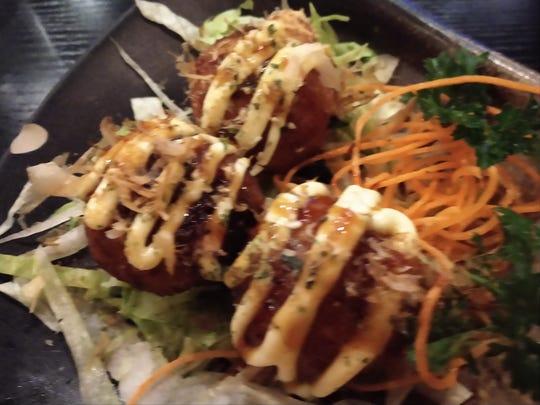 Hana Ramen Sushi's Tako Yaki.