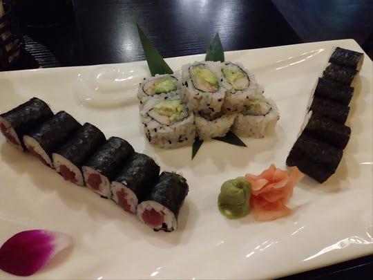 Hana Ramen Sushi's Maki Combo Roll.