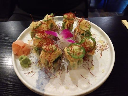 Hana Ramen Sushi's King Roll.