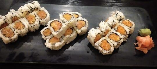 Hana Ramen Sushi's Triple Spicy Maki Roll.