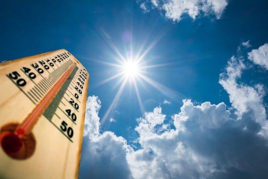 Thermometer sun 40 Degres.