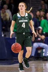 Taryn McCutcheon and Michigan State are ranked No. 15 in this week's women's Top 25.