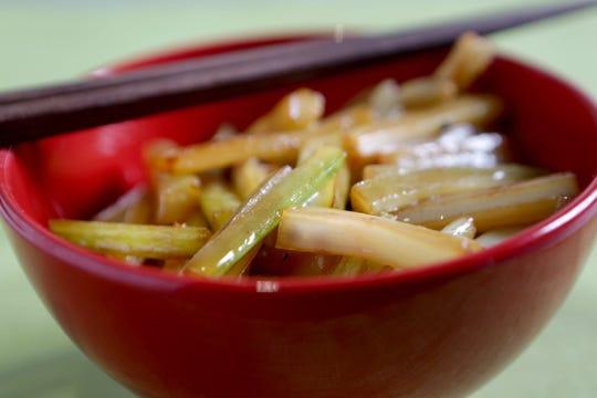 Celery Stir Fry.