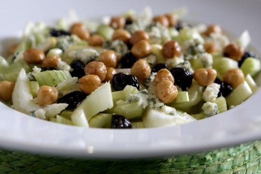 Celery, Blue Cheese and Hazelnut Salad.