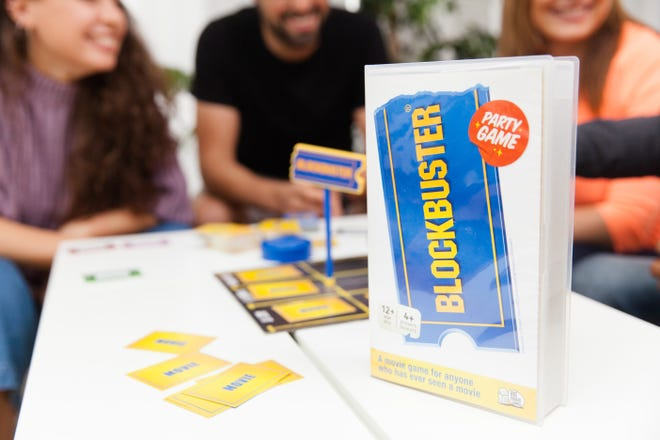 There's a new Blockbuster party game out.