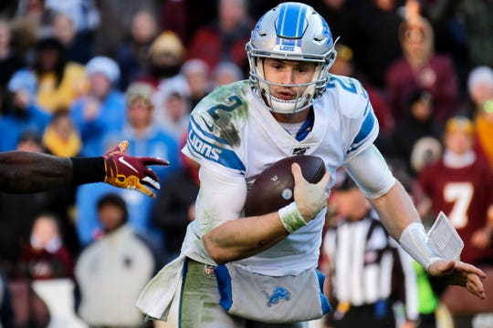 Lions quarterback Driskel was projected to be limited by a hamstring injury, according to the team's practice report on Monday.