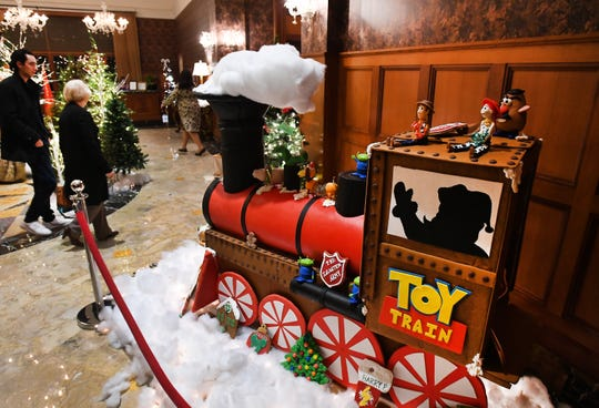 The Salvation Army of Metro Detroit and the Royal Park Hotel's annual gingerbread holiday tradition started in 2009 has grown from a more traditional gingerbread house to huge creations that bring the community in to see the newest monster cookie.