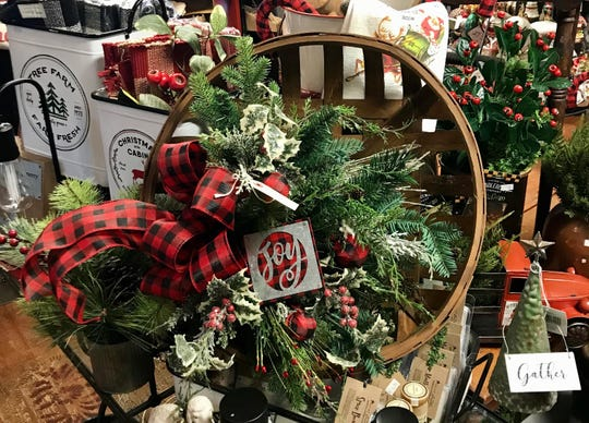 Holiday floral arrangement from Heart of Newburgh