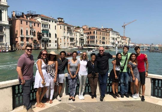Students and faculty took part in a study abroad opportunity in Italy over the summer with Florida SouthWestern State College.