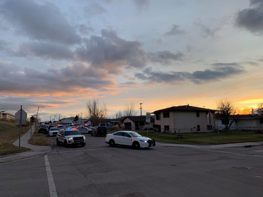 The Department of Justice said a 42-year-old man was fatally shot by a deputy U.S. Marshal Monday after he brandished a weapon at officers.