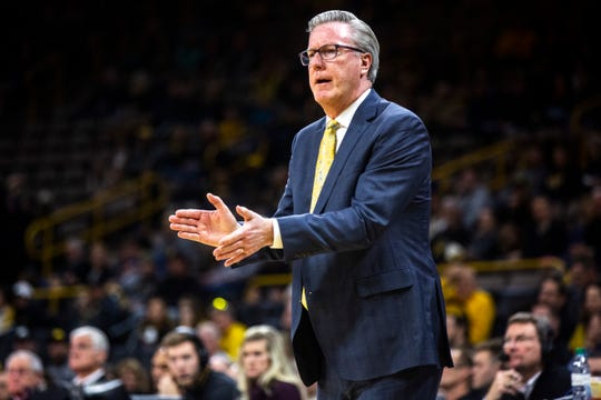Iowa basketball coach Fran McCaffery has brought teams to the Palestra in Philadelphia before. But never ones that had his sons on the roster. That will make Saturday's homecoming trip even more special to McCaffery.