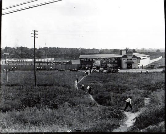 League Ball Park in Lafayette  ca. 1915