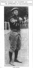 Jim Thorpe at Indiana