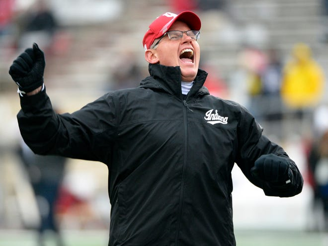 An Indiana native, IU coach Tom Allen says the Old Oaken Bucket game is 'personal' for him.