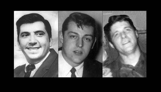 Robert A. Gierse, James Barker, Robert W. Hinson Jr. were all victims of a 1971 triple murder on LaSalle Street that has never been solved.