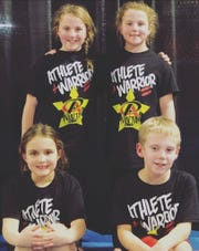 Four Ninjas enjoyed their opportunity to compete.