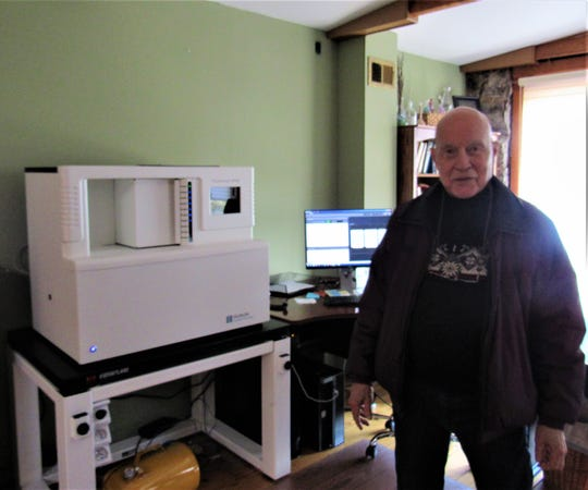 "Digital Imaging is a process that ""grabs"" single frames from a camera and sends it into computer memory, allowing for more samples and comprehensive study. The machines are expensive, but Switzer was an early adopter, noting, ""It couldn't have worked out better for us."""