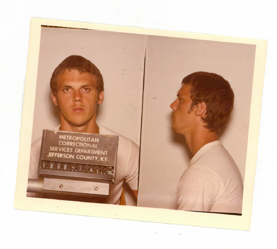 Ronald Priest's mug shots from an unrelated arrest in 1981.