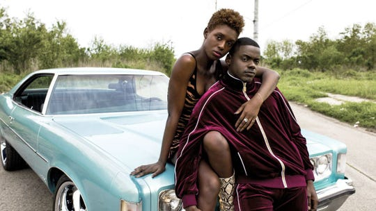 """Jodie Turner-Smith and Daniel Kaluuya are on the run in """"Queen & Slim."""""""